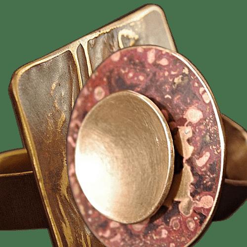 bagues laiton cuivre collection contemporaine createur